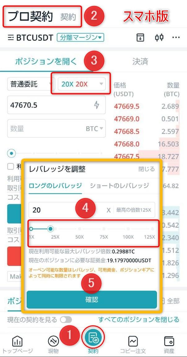 bitget ビットケット 暗号資産ディリバティブ取引所による簡単設定